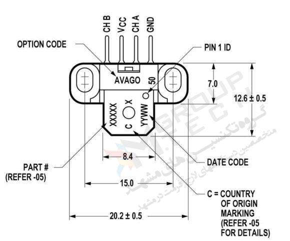 مشخصات فنی سنسور انکودر